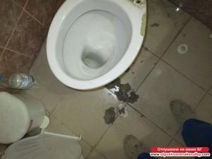 отпушена тоалетна чиния